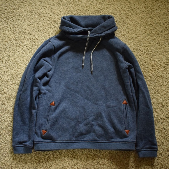 Roxy Cowl Neck Sweatshirt With Pockets
